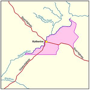Katherine locality map