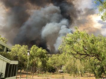Busy Start to Central Australian Fire Season