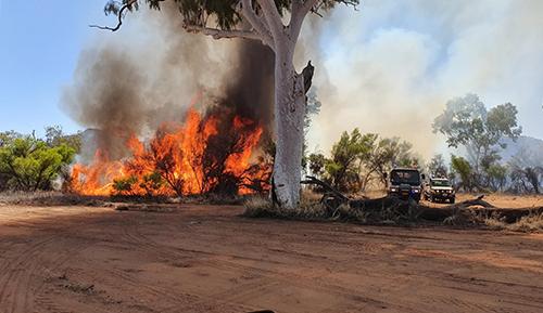 Central Australia fire season commences
